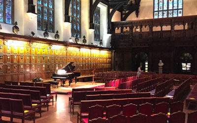 Julius Drake Returns To Middle Temple Hall For The First Temple Song of 2017