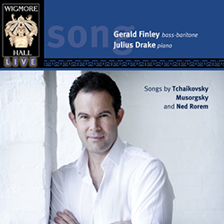 Songs by Tchaikovsky, Musorgsky and Ned Rorem