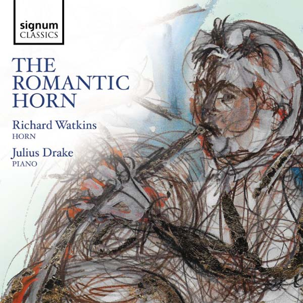 Julius Drake & Richard Watkins' The Romantic Horn Available In Stores and Online 8 March on Signum